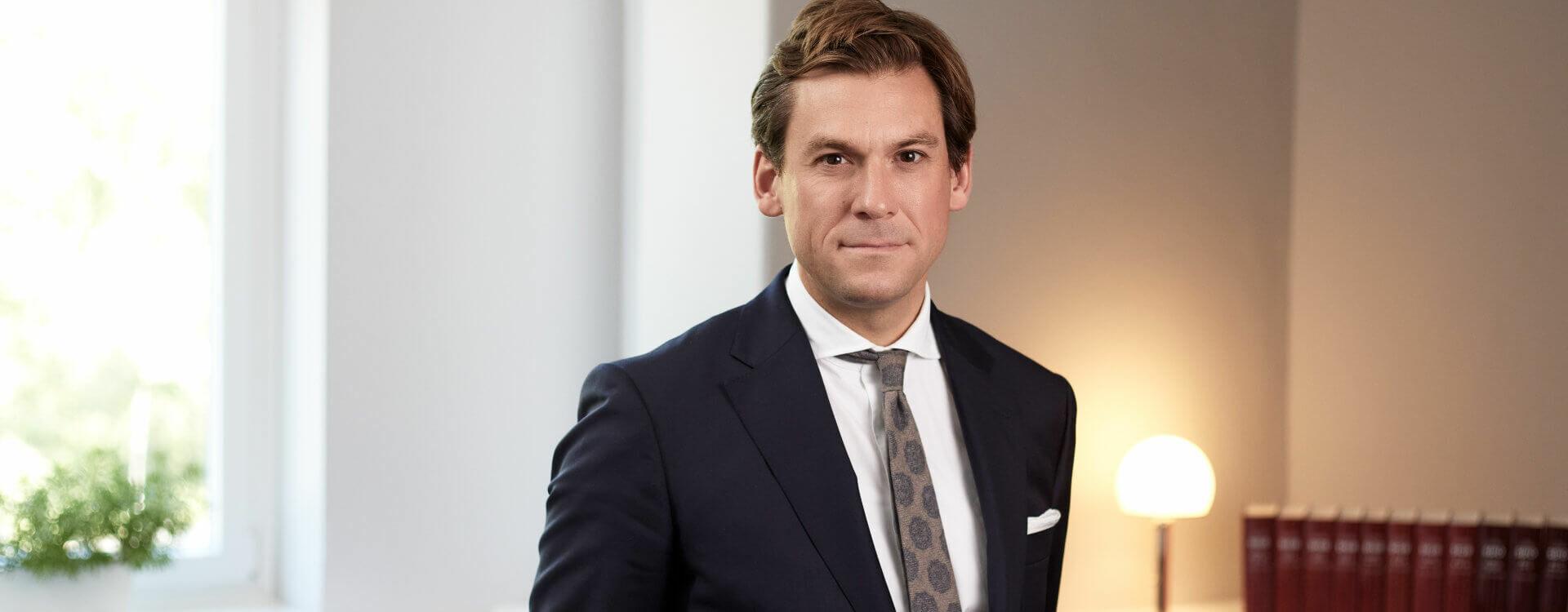 Rechtsanwalt Dr. Benedikt Mick, Rechtsanwalt und Fachanwalt für Strafrecht bei LAUDON SCHNEIDER Strafverteidiger